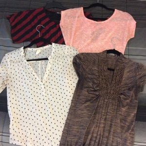 Set of 4 dressy / casual shirts